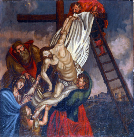 homily: Deposition from the Cross Editorial