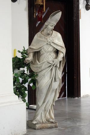 francis: Saint Francis de Sales, Sisak cathedral, Croatia Editorial