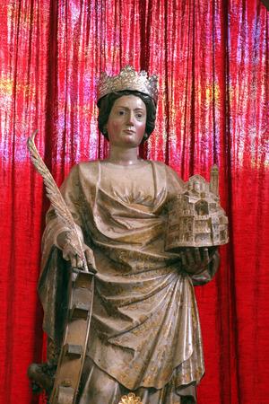 homily: Saint Euphemia in Church of Saint Euphemia, Rovinj, Croatia