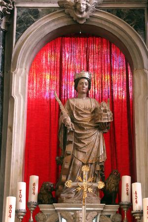homily: Saint Euphemia, Church of Saint Euphemia, Rovinj, Croatia