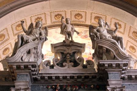 religiosity: Angels, Church of Saint Euphemia, Rovinj, Croatia