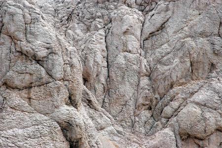 geologic: Close-up image of cliff-Location Pag island, Croatia