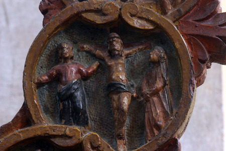 ave: The Crucifixion, Mysteries of the Rosary