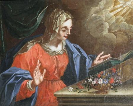 annunciation of mary: Virgin Mary, The Annunciation