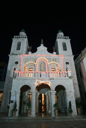 first miracle: Church of Jesus in Cana, Israel