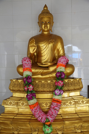 west bengal: Buddhist temple in Howrah, West Bengal, India