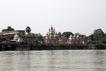 founded: Belur Math, headquarters of Ramakrishna Mission, founded by philosopher Vivekananda.