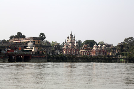 hooghly: Belur Math, headquarters of Ramakrishna Mission, founded by philosopher Vivekananda.