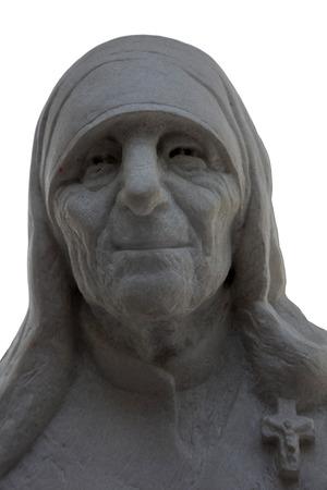 beatification: Mother Teresa monument in Skopje