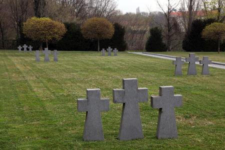 German Military Graves, Mirogoj graveyard in Zagreb - Croatia