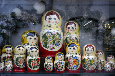 matroshka: Russian toy - babushka