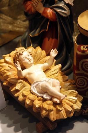 angeles bebe: Nacimiento de Viena tienda Foto de archivo