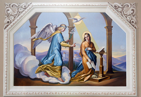 angel gabriel: The Annunciation
