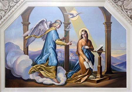 virgen maria: La Anunciación