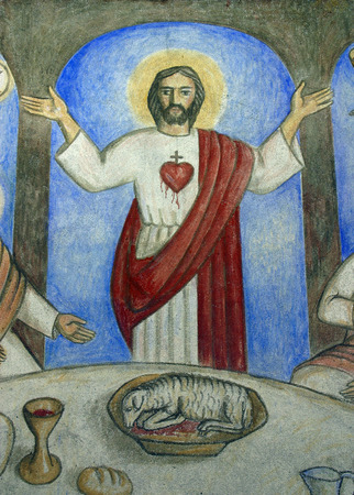 sacred heart: Sacred Heart of Jesus Editorial