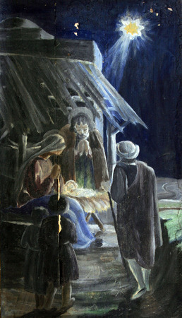 christmas religious: Nativity Scene