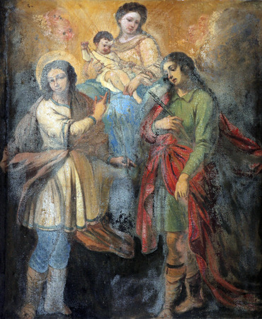 homily: Virgin Mary and Child with Saints Editorial