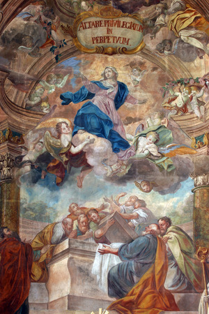 virgin mary: Assumption of the Virgin Mary Editorial