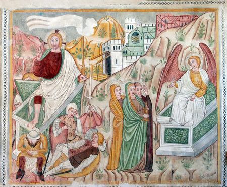 homily: Fresco paintings in the old church Editorial