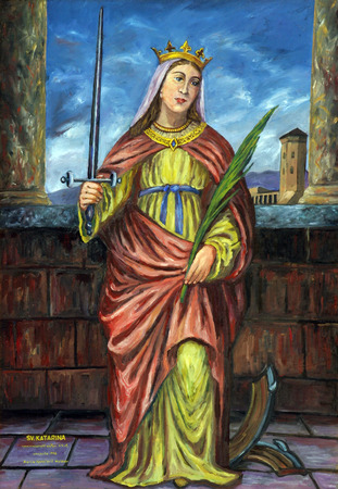 Saint Catherine of Alexandria photo
