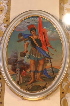patron of europe: Saint Florian