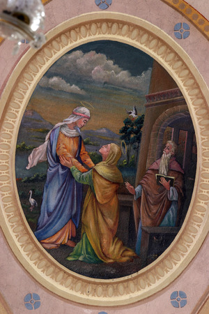 holy family: Visitation of the Blessed Virgin Mary