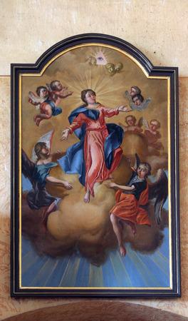 assumption: Assumption of the Virgin Mary Editorial