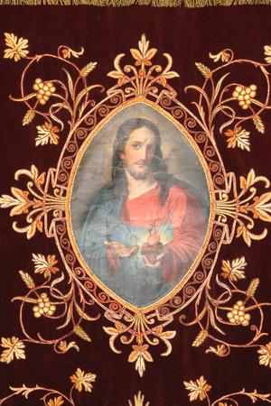 vestment: Jesus, Golden embroidered Church vestments