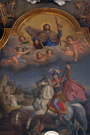 religiosity: St. George and St. Jacob