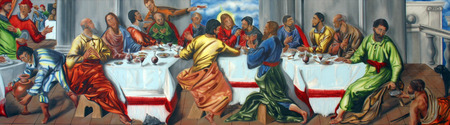 the feast of the passover: Last Supper