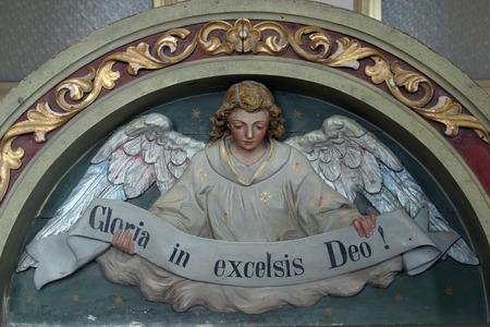 heavenly angel: Heavenly Angel declaring Gloria in excelsis Deo!