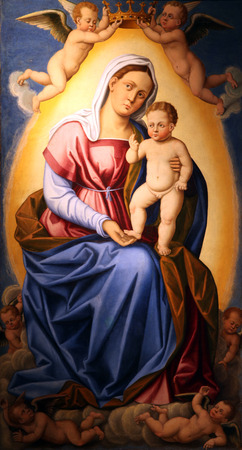 Madonna and Child photo