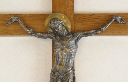 son of god: Jesus crucified on the cross