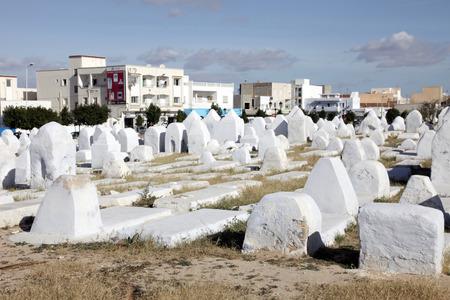 kairouan: Muslim cemetery, Kairouan, Tunisia