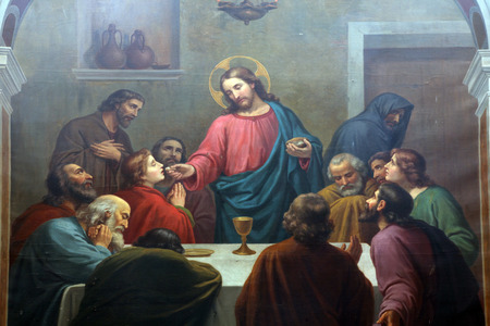 the christ: Last Supper