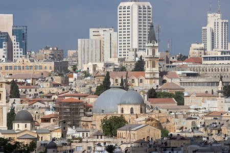 judaic: View on old Jerusalem