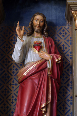 Sacred Heart of Jesus photo
