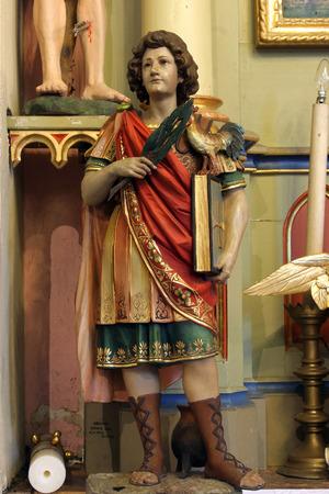 homily: Saint Vitus Stock Photo