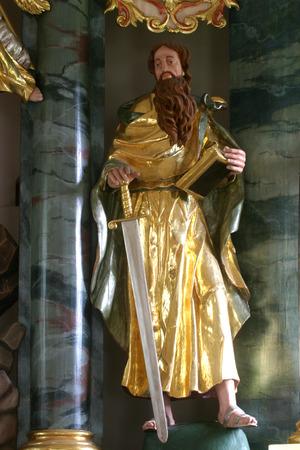 apostle paul: Saint Paul the Apostle Stock Photo