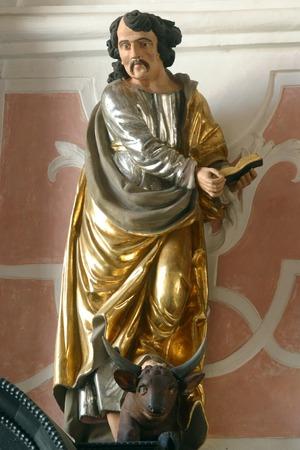 ルーク: 聖ルカ福音伝道者 写真素材