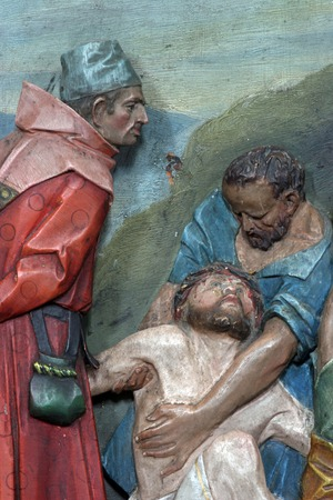 dolorosa: 11th Stations of the Cross, Crucifixion: Jesus is nailed to the cross