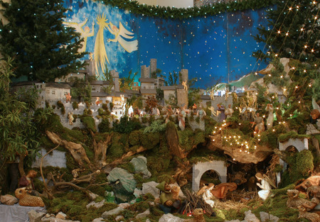 christmas spirit: Nativity Scene