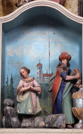 martyrdom: Martyrdom of St. Barbara