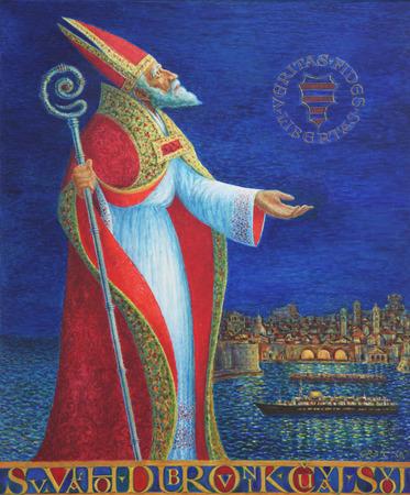 patron of europe: Saint Blaise
