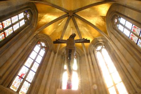 homily: Jesus on the cross, Zagreb - St. Mark church Editorial