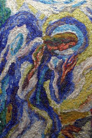 messengers of god: Archangel Gabriel Stock Photo