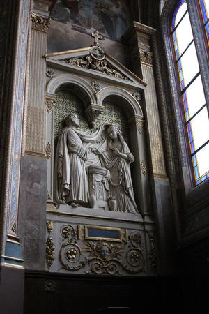 homily: Engagement of Virgin Mary, St. Eustache church, Paris