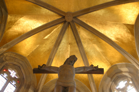 homily: Jesus on the cross, Zagreb - St. Mark church Editorial