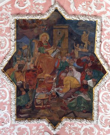 philosophers: St. Catherine discusses with philosophers