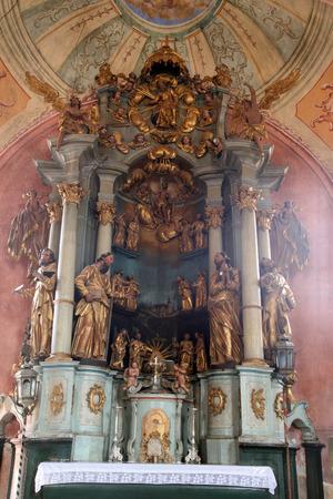 homily: Church altar Editorial